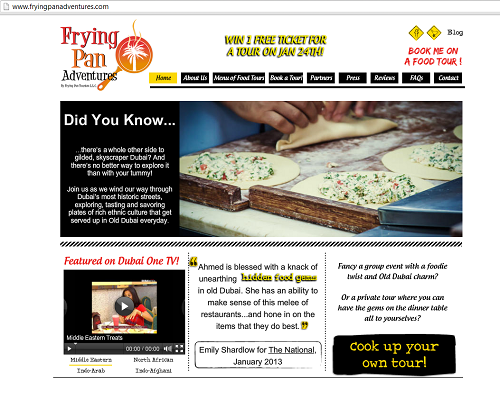 Frying Pan Adventures Website