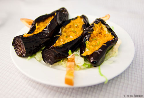 Stuffed Eggplant - Sea Mood Restaurant - Dubai