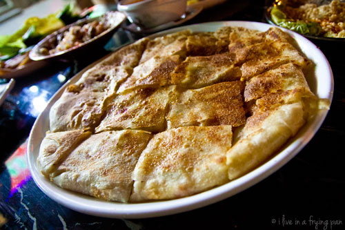Soarikh Restaurant - Egyptian Food Dubai -  Turkish Cheese Feteer
