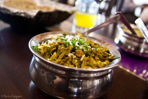 Fansa Che Bhaji - Maharashtrian food - Peshwa Restaurant - Dubai