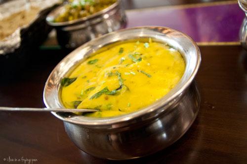 Pithla - Maharashtrian food - Peshwa Restaurant - Dubai