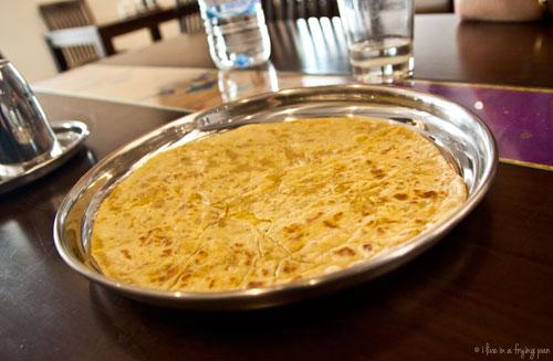 Puran Poli - Maharashtrian food - Peshwa Restaurant - Dubai