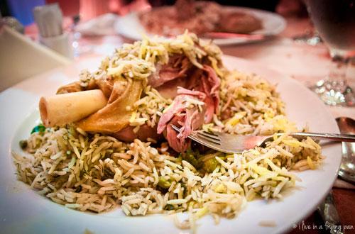 Baghali Polo with Mahicheh -Iran Zamin Restaurant - Dubai