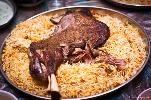Lamb Shoulder Haneeth - Cabrito Restaurant - Barsha Dubai
