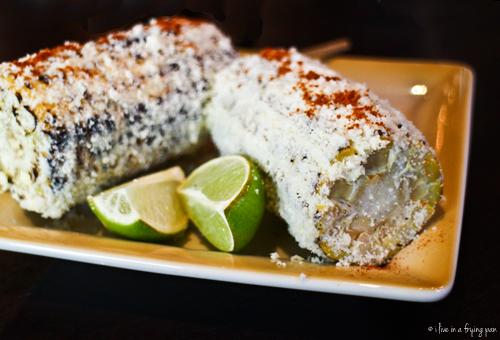 Grilled corn Mexican style - Cafe Habana - Cuban Restaurant - Dubai