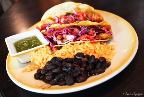 Shrimp tacos - Cafe Habana - Cuban Restaurant - Dubai