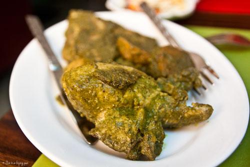 Chicken Cafreal - Goan Restaurant - Treat Restaurant Karama