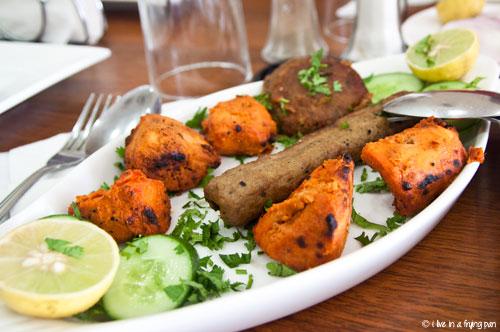 Kabab platter - Ballimaran Dilli Restaurant - Karama Dubai