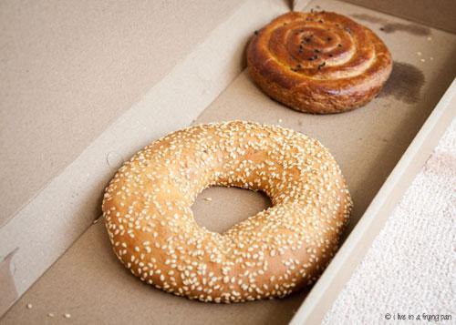 Simit and Tahina Pastry - Zurna - Turkish Restaurant Dubai