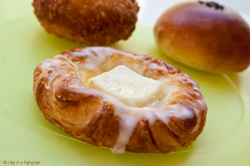 Danish Pastry with Kiri Cheese -  - Yamanote Atelier - Japanese bakery - Dubai