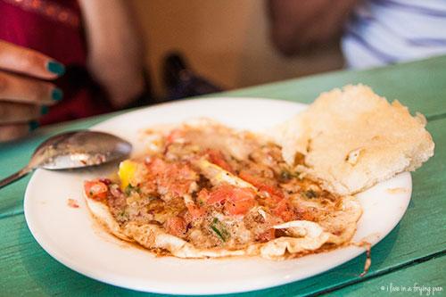 Masala Half-Fry - Raju Omlet - Dubai