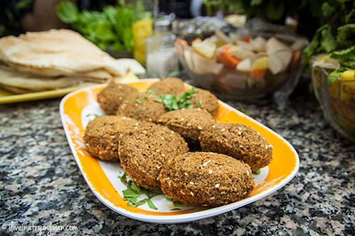 Falafels at Muna Cafeteria in Sharjah