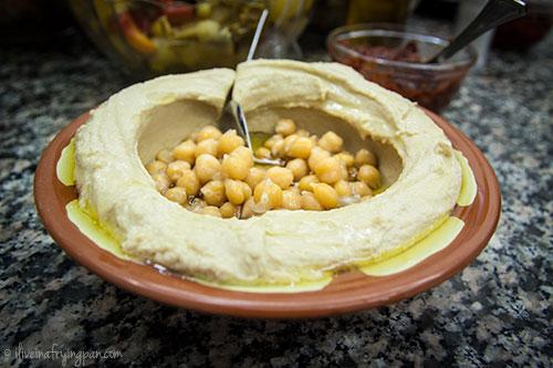Hummus - Muna Cafeteria in Sharjah
