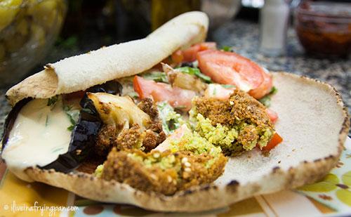 Mushakal Sandwich at Muna Cafeteria