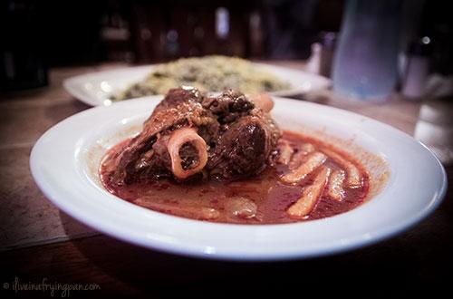Maahicheh with Baghali Polo - Beriani Esfahan - Deira Dubai Restaurant