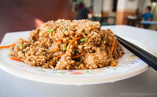 Cumin brown rice at Lan Zhou Noodle Restaurant - International City - Dubai