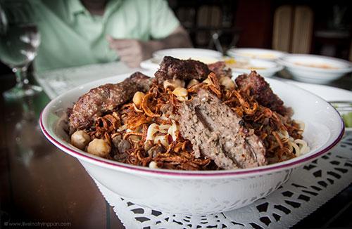 Koshari with Kofte - Farhat Alasli - Egyptian Restaurant - Abu Hail Dubai
