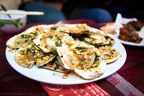 Scallops - XO Foodie Tour - Ho Chi Minh City - Vietnam