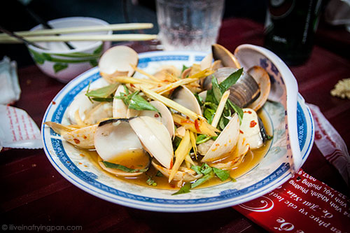 Clams - XO Foodie Tour - Ho Chi Minh City - Vietnam
