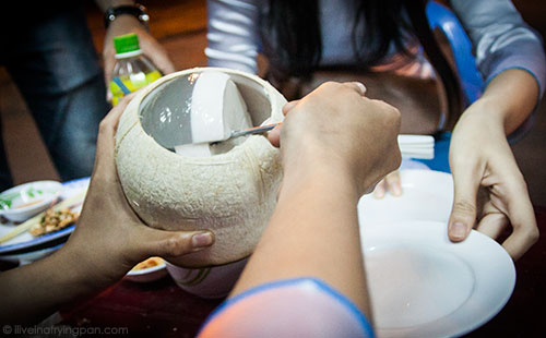 Coconut Jelly - Banh Khot - XO Foodie Tours - Ho Chi Minh City - Vietnam