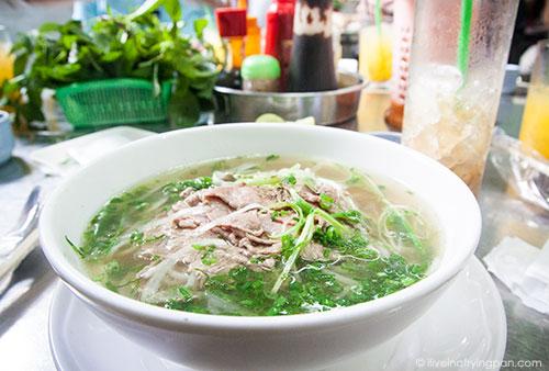 Beef Pho - Saigon Street Eats - Pho Morning Trail - Vietnam