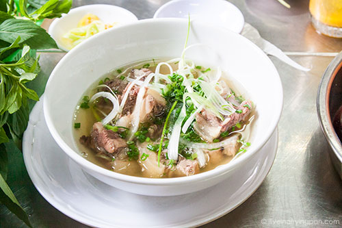 Oxtail soup - Saigon Street Eats - Ho Chi Minh City - Vietnam