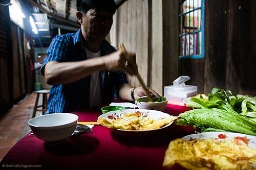 Banh Xeo - Homestay - Backyard Travels - Mekong Delta - Vietnam
