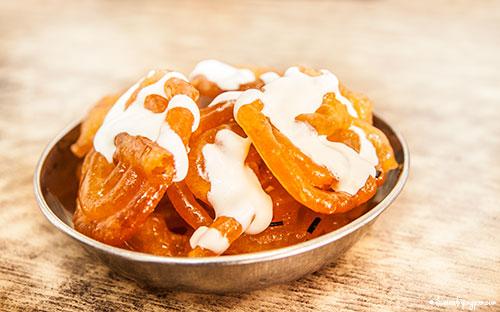 Jalebi & cream - Imdad Sweets - Naif - Deira Dubai