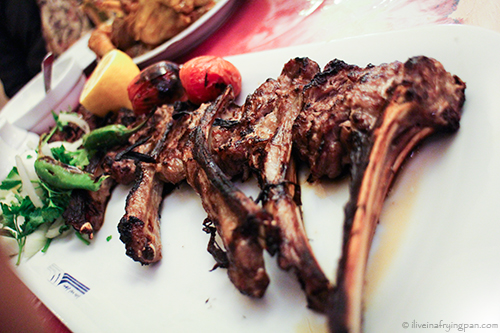 Lamb chops sheeshleek -  Arvand Kenar Restaurant - Tehran Iran