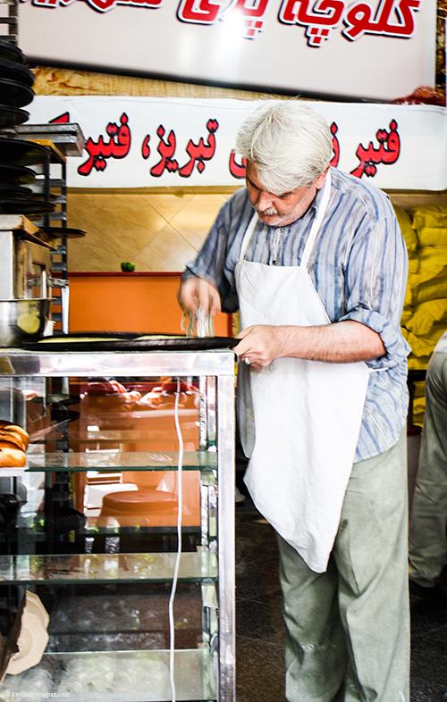 Baker - Breads - Tehran Iran