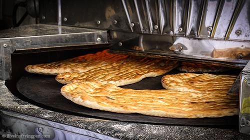 Barberi Bread - Tehran Iran