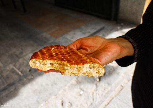 Nargili bread -Tehran Iran