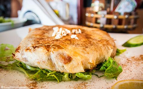 Chicken Bastilla -  Musaharati Restaurant - Garhoud - Dubai