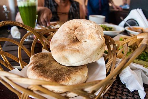Semolina buns - Musaharati Restaurant - Garhoud - Dubai