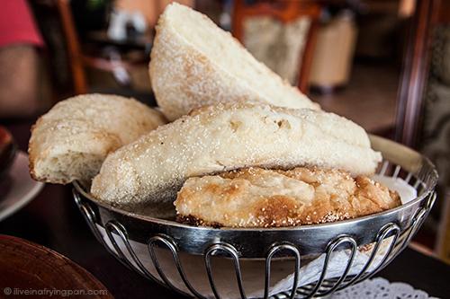 Semolina buns - Musaharati Restaurant - Mankhool - Dubai