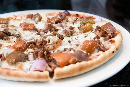 Tuscany Tenderloin Pizza - Pizza Pub - Satwa - Dubai restaurant