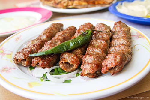 Lamb kababs - Al Dimyati & Iskandaron Restaurant - Karama - Dubai - Arabic food