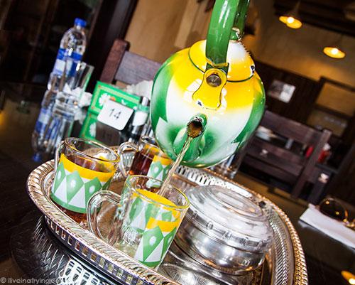 Red tea - Jawareh Traditional Restaurant - Emirati food - Qusais - Dubai