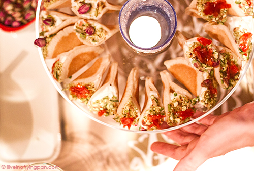 Ataif filled with Arabic clotted cream or Ashta - Lets Talk Food Dubai - Cooking Class - Iftar Ramadan - Dubai