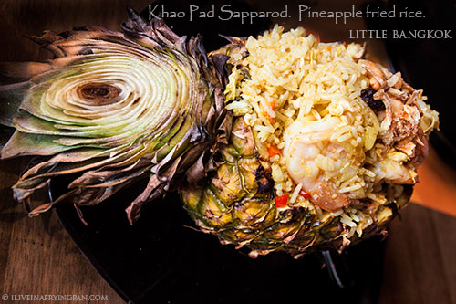 Pineapple fried rice - Little Bangkok - Thai Restaurant - Oud Metha Dubai