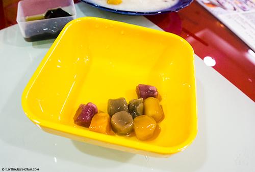 Taiwanese Taro balls - Honey Ice Cream Dessert Shop - Taiwanese Taro Balls - Muteena Deira