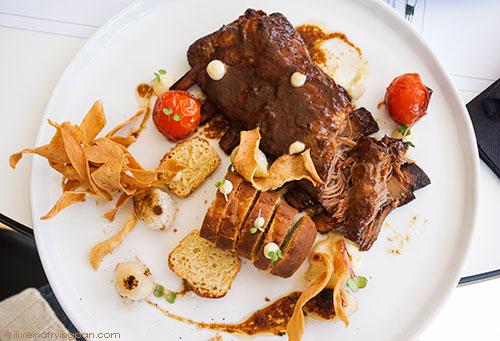 Miso glazed lamb ribs - Archive Safa Park - Chef Allan - Dubai restaurant