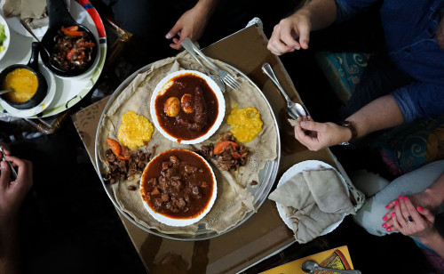 Ethiopian Injera - Abessinian Restaurant - Naif Deira Dubai