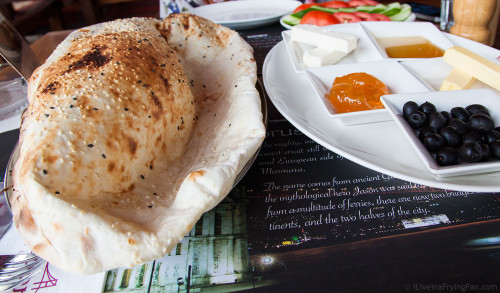 Turkish naan - Bosporus - Jumeirah - Dubai