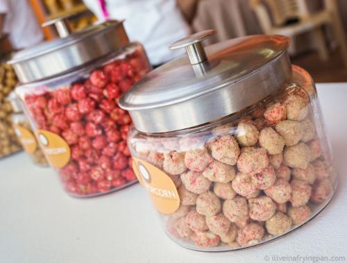 Rahash & Rosewater Popcorn - @letpopcornqa - Lets Popcorn - Doha Qatar - Rahash - #QIFF2015 - Qatar International Food Festival