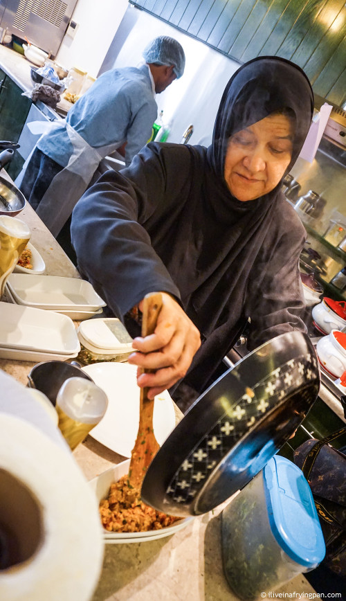 Chef Shamsa - Shay AlShomous - Doha Qatar - Qatar International Food Festival 2015