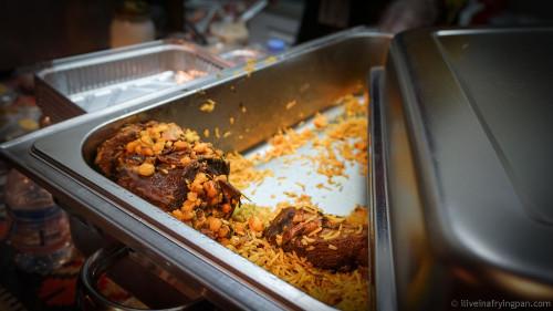 Sufrat Magadna Qatar - Lamb machboos - QIFF2015 - Qatar International Food Festival